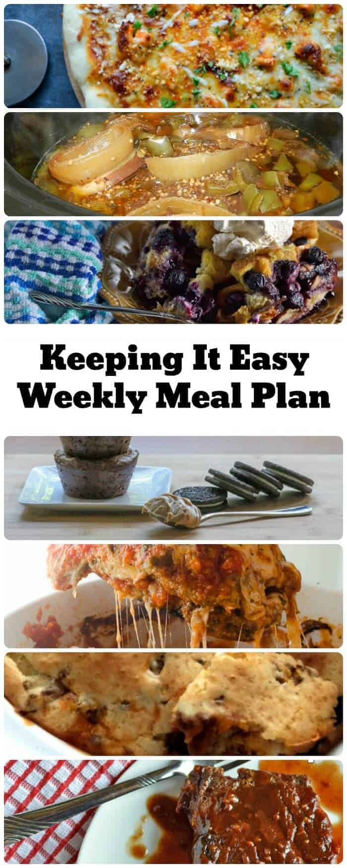 Weekly Meal Plan – Week 2