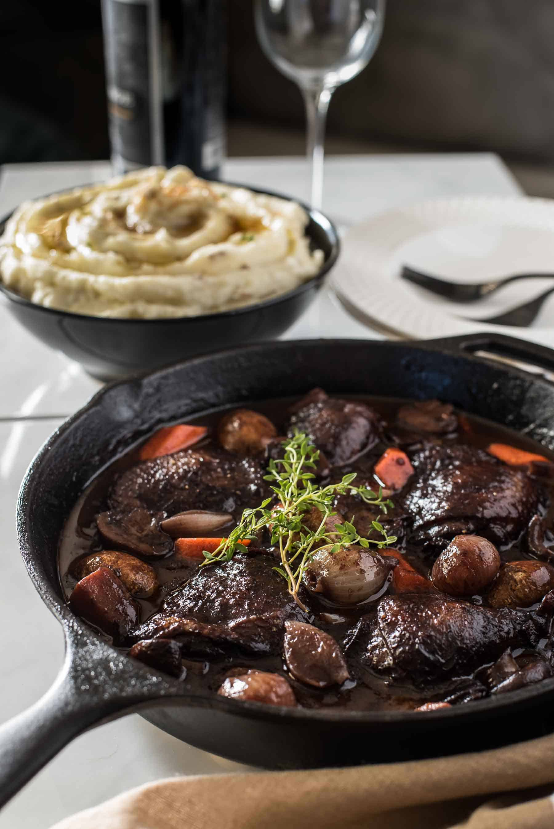 0ef4814555e5 No fear - this classic Coq Au Vin recipe is not nearly as difficult as you