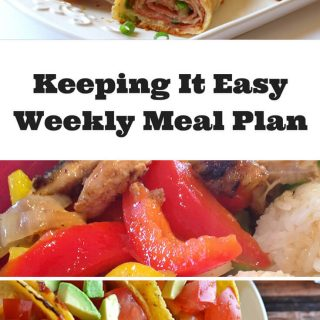 Weekly Meal Plan – Week 10