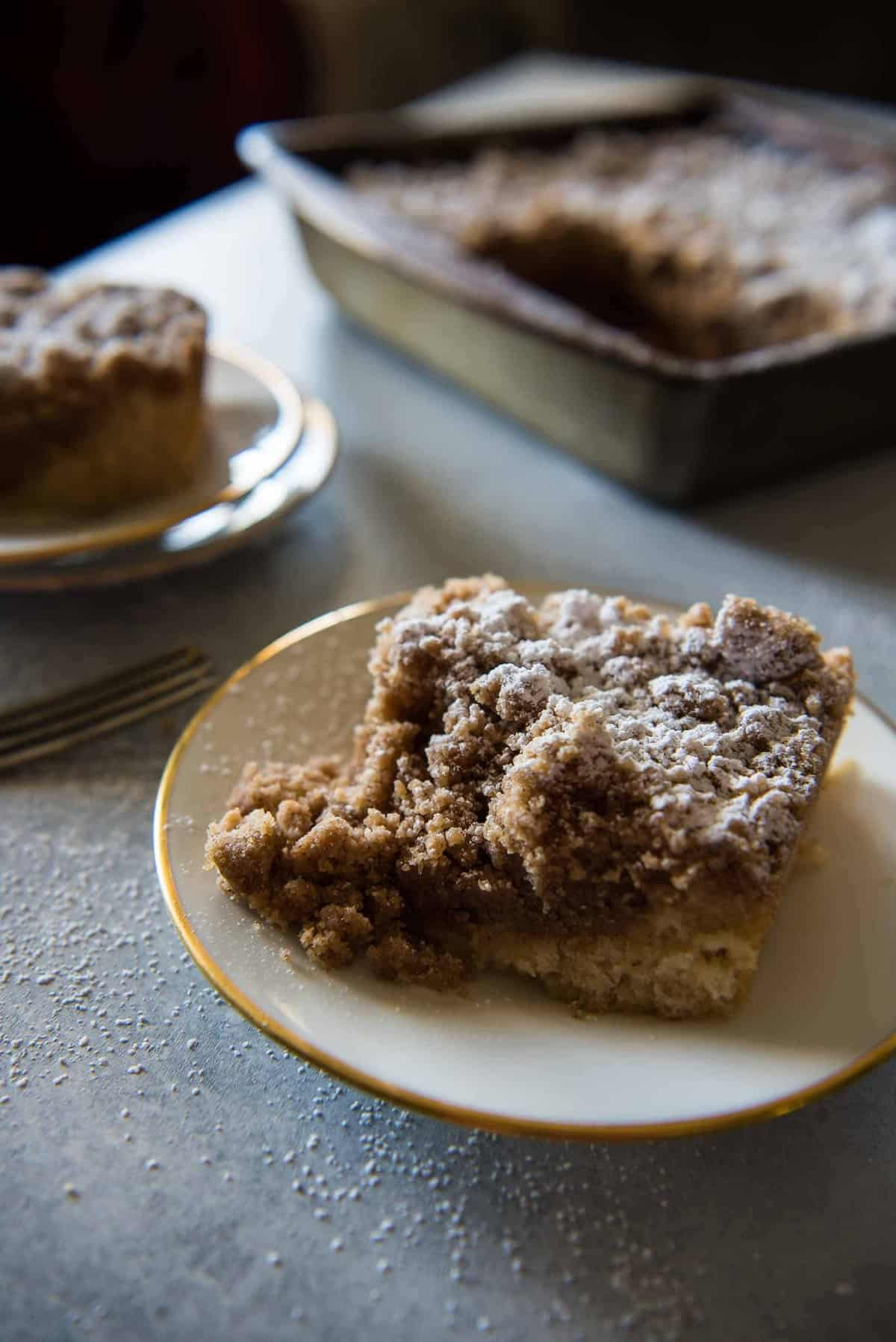 Nana's New York Crumb Cake