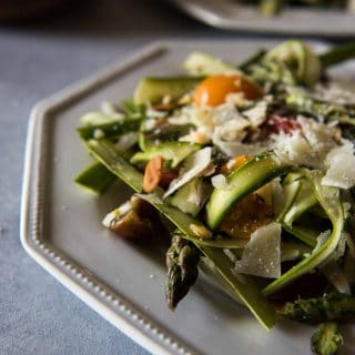 Spring Asparagus Salad with Lemon Vinaigrette