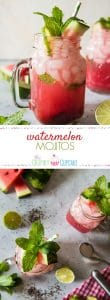 Fresh ingredients are the way to go to make the perfect summer cocktail - the Watermelon Mojito!This fruity twist on the classic Cuban mojitowill make you feel like you're lounging beneath the palms no matter where you are!