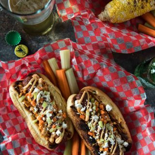 Buffalo Hot Dogs #SundaySupper