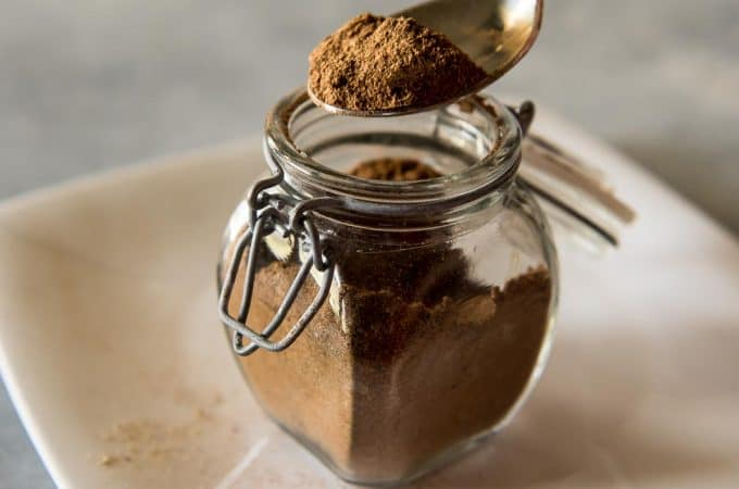 A versatile spice blend inspired by an Indian tea variety, this homemade chai spice mix can also be used on toast, in baked goods, or as a unique meat rub.