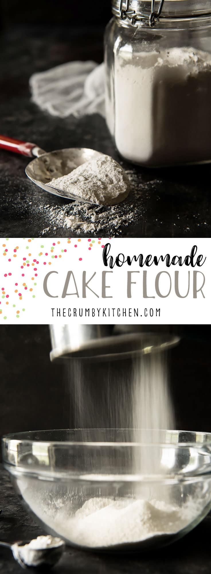 In need of cake flour, but don't have time to run to the store? Here's how to make a homemade cake flour substitute from two pantry staples.