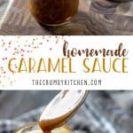 Ditch the store-bought jar!Homemade Caramel Sauce can be yours to drizzle over whatever you please in about 20 minutes with only 3 ingredients!