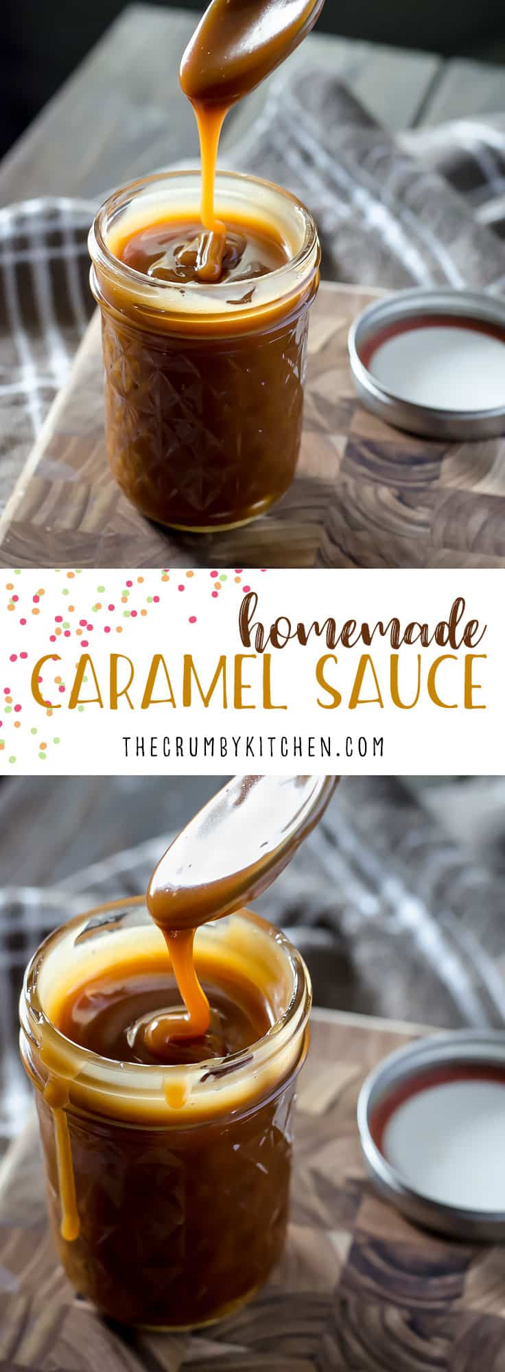 Ditch the store-bought jar! Homemade Caramel Sauce can be yours to drizzle over whatever you please in about 20 minutes with only 3 ingredients!
