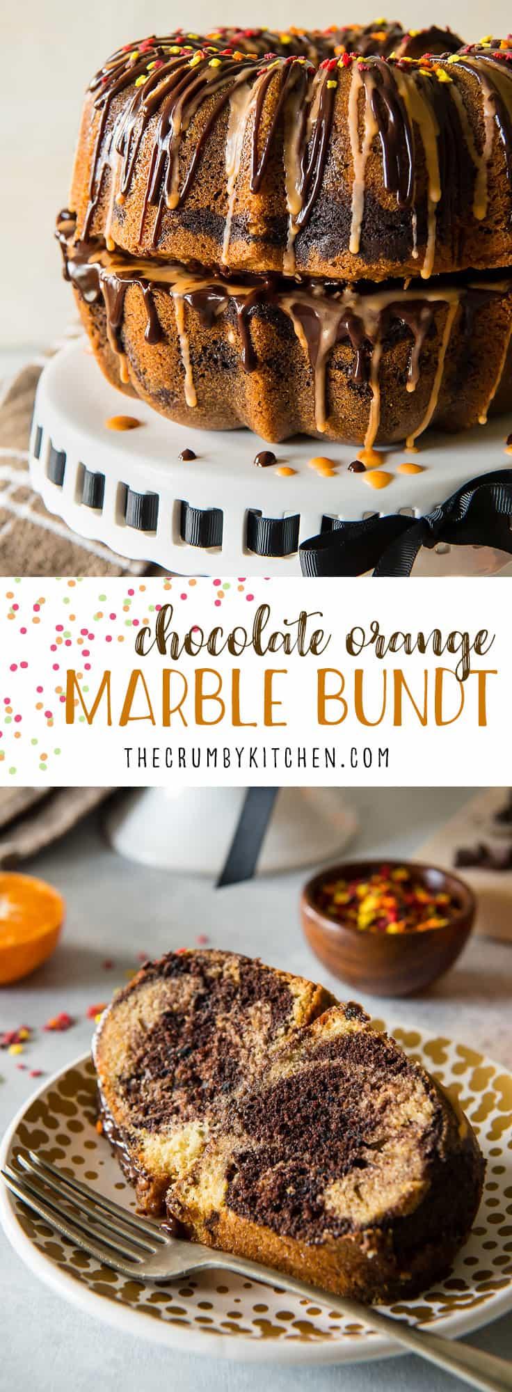 Chocolate Bundt Cake With Orange Glaze
