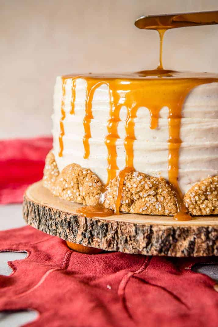 Bourbon Caramel Spice Cake
