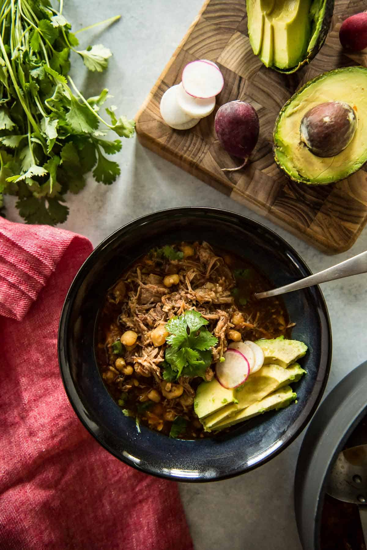 Posole Rojo: The Best Pork and Hominy Stew
