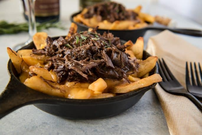 Instant Pot Braised Short Rib Poutine