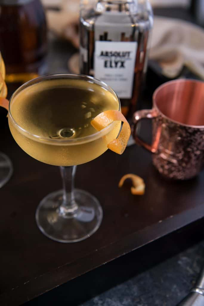 The Copperface Cocktail Elyxir