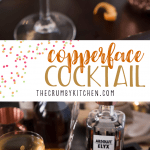 Simple in preparation but complex in flavor, theCopperface Cocktail combines Absolut Elyx with Calvados and apricot brandy for a sipper that is sure to keep everyone warm this winter!
