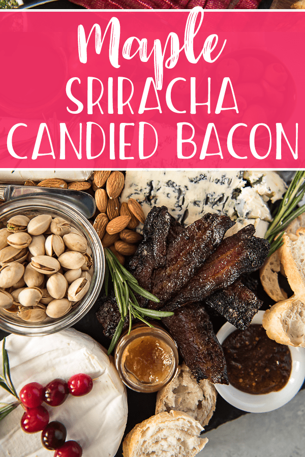 The most decadent comforting cheese boards happen in winter, and are made even better if they include this Maple Sriracha Candied Bacon! Learn how to perfectly pair your favorite French fromage with the perfect wines & accouterment!