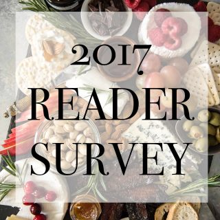 2017 Reader Survey (& a THANK YOU Amazon Giveaway!)