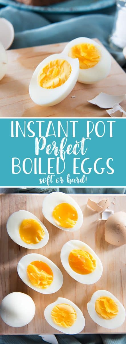 Whether you like them soft-boiled or hard, the best and fastest way to achieve healthy, nutritious, perfectly boiled eggs is in your pressure cooker! Got 3-5 minutes? These Instant Pot Perfect Boiled Eggs are so easy - from the cooking to the peeling!