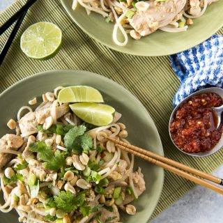 Weekday Chicken Pad Thai for Two