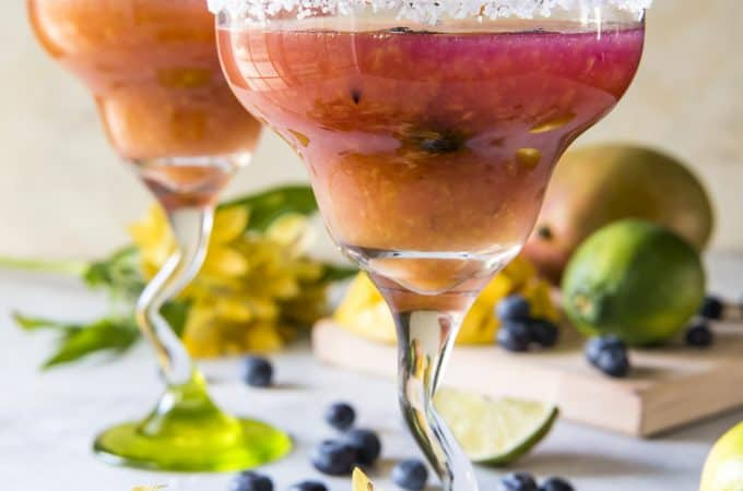 Blueberry Mango Margarita