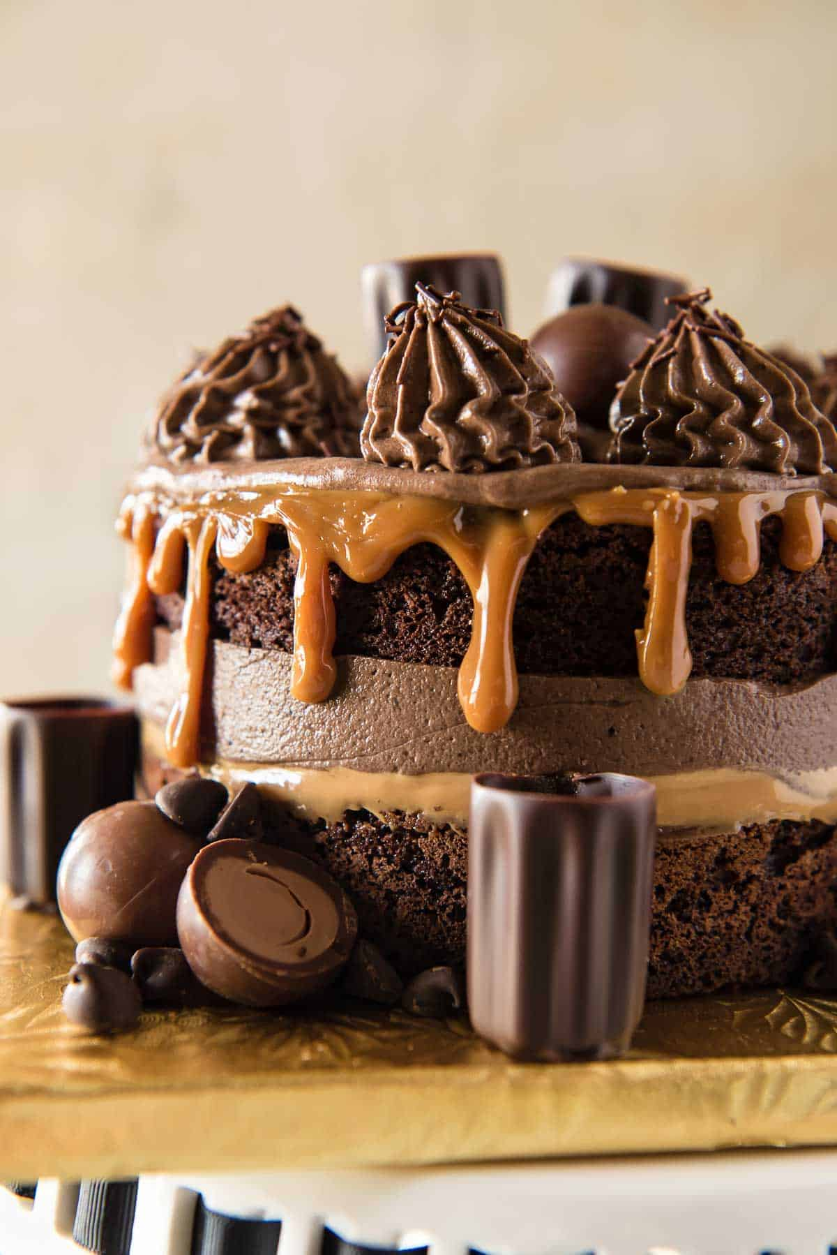 Caramel Martini Chocolate Mousse Cake The Crumby Kitchen