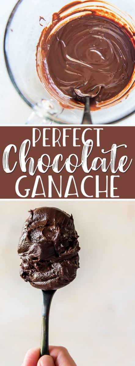 Make this 2-ingredient, 5-minute perfectchocolate ganacheand you'll be pouring it over everything from cakes to ice cream sundaes! This easy, versatile ganache recipe can also be whipped into an icing or turned into the most decadent chocolate truffles.