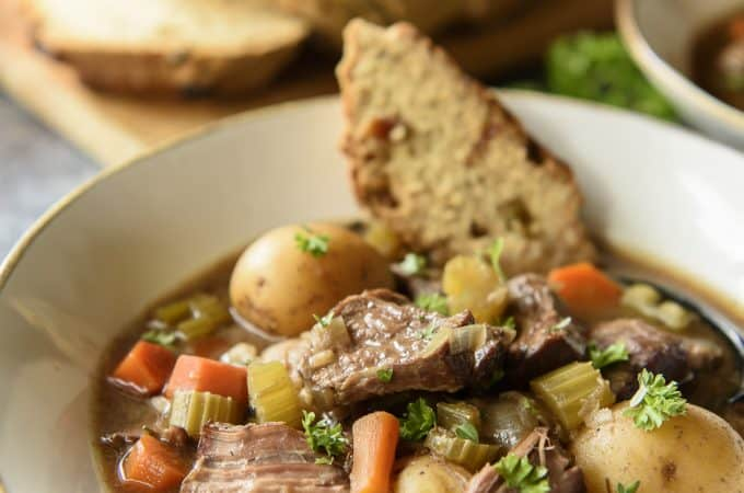 Slow Cooker Irish Guinness Beef Stew