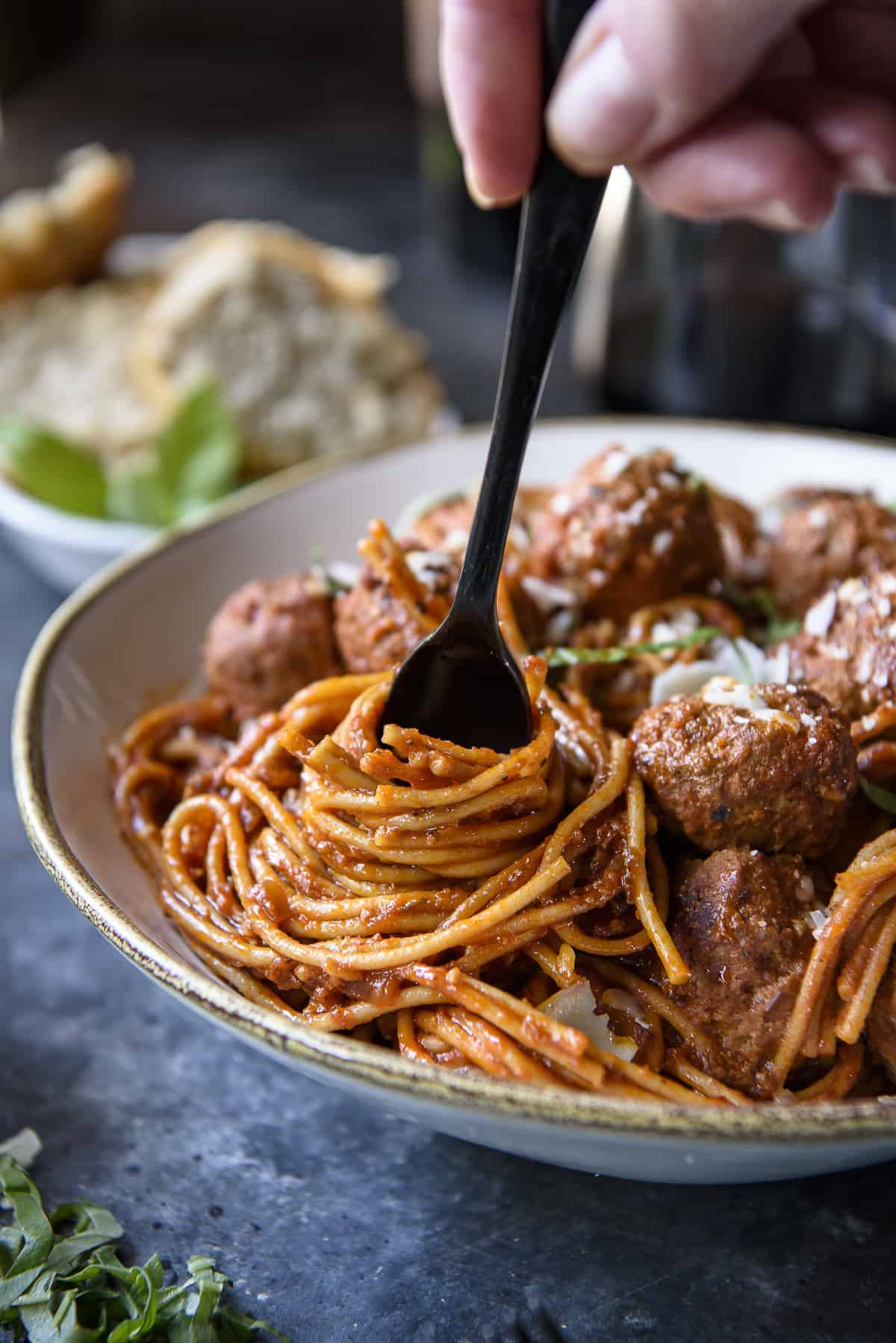 30-Minute Instant Pot Spaghetti and Meatballs
