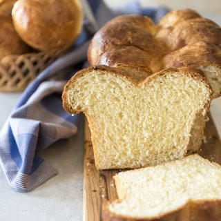 Homemade Brioche Bread recipe