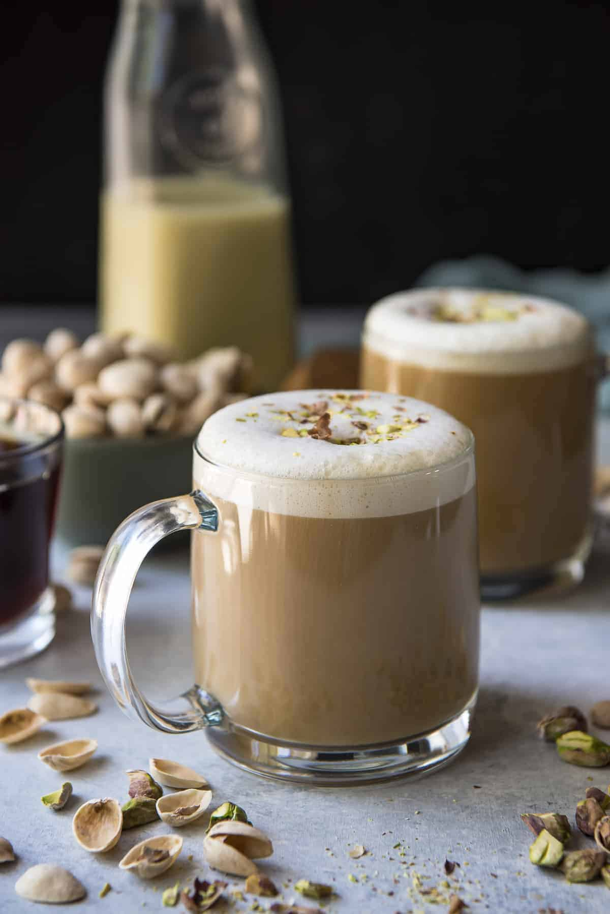 Pistachio Latte Of My Dreams The Crumby Kitchen