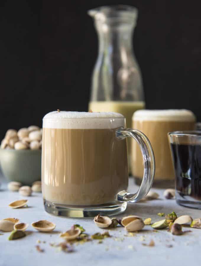 Creamy Pistachio Latte recipe