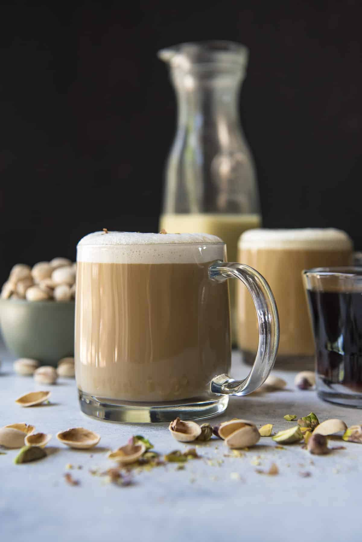 Pistachio Latte of My Dreams