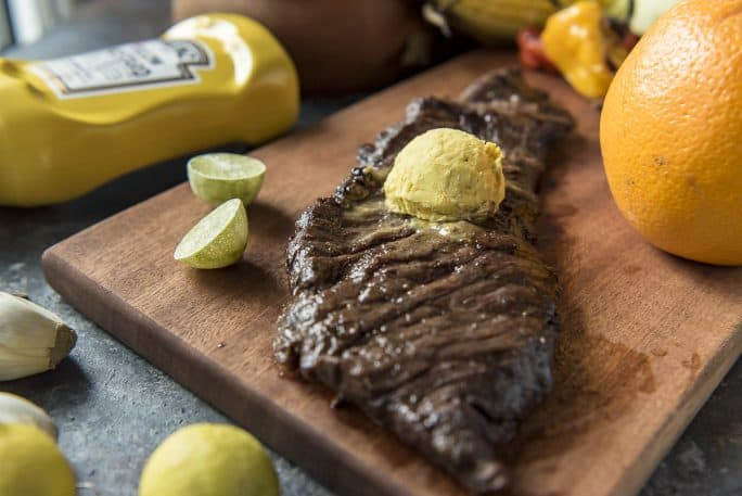 Grilled Skirt Steak recipe