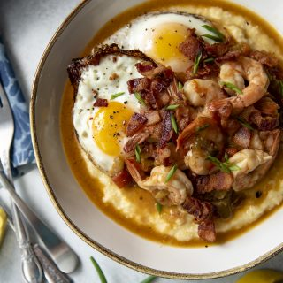 Instant Pot Shrimp and Grits #BrunchWeek