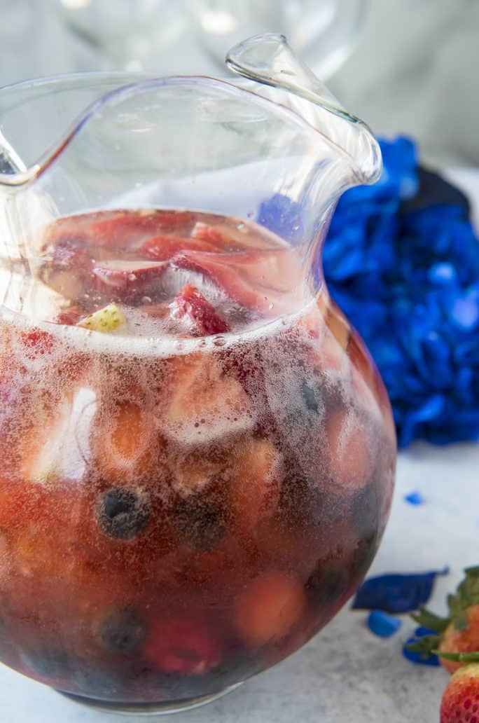 Red White and Rose Sangria recipes
