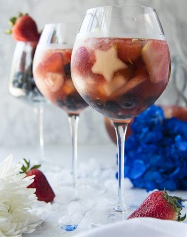 Red White and Rose Sangria