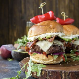 The Bettah Feta Burger recipe
