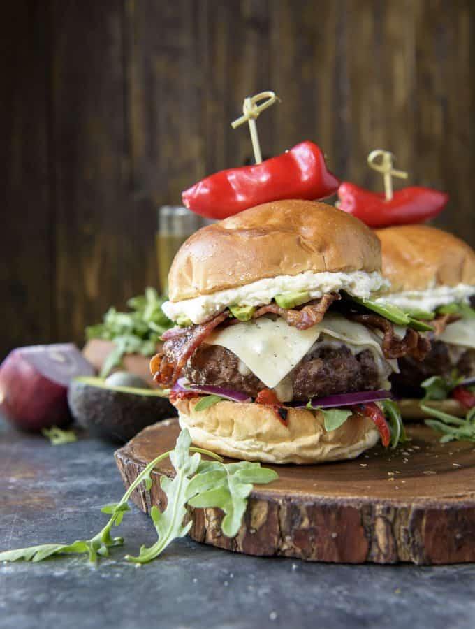 The Bettah Feta Burger recipe