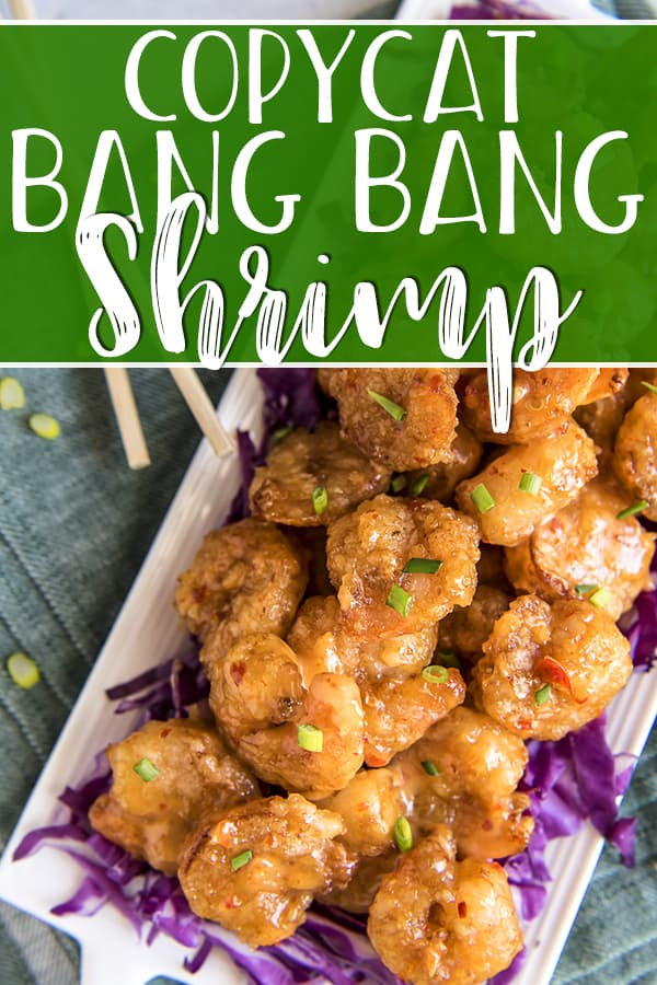 Everyone's favorite Bonefish Grill appetizer can be made at home using this copycat Bang Bang Shrimp recipe!Super crispy deep-friedshrimp are tossed in a sweet-and-spicy mayo-based glaze - perfect on their own, but even better served in tacos, rice bowls, or on an Asian salad.