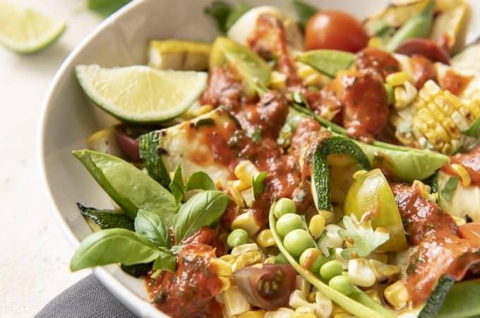 grilled zucchini salad recipe