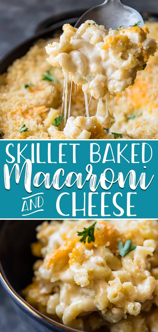 Baked Mac and Cheese is the ultimate comfort food that's perfect in any dinner situation! Whether you're serving up a dozen people at a holiday potluck or four at a summer cookout, this easy side dish is always a crowd pleaser.