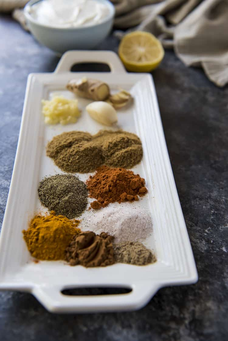 Chicken Tikka Masala ingredients