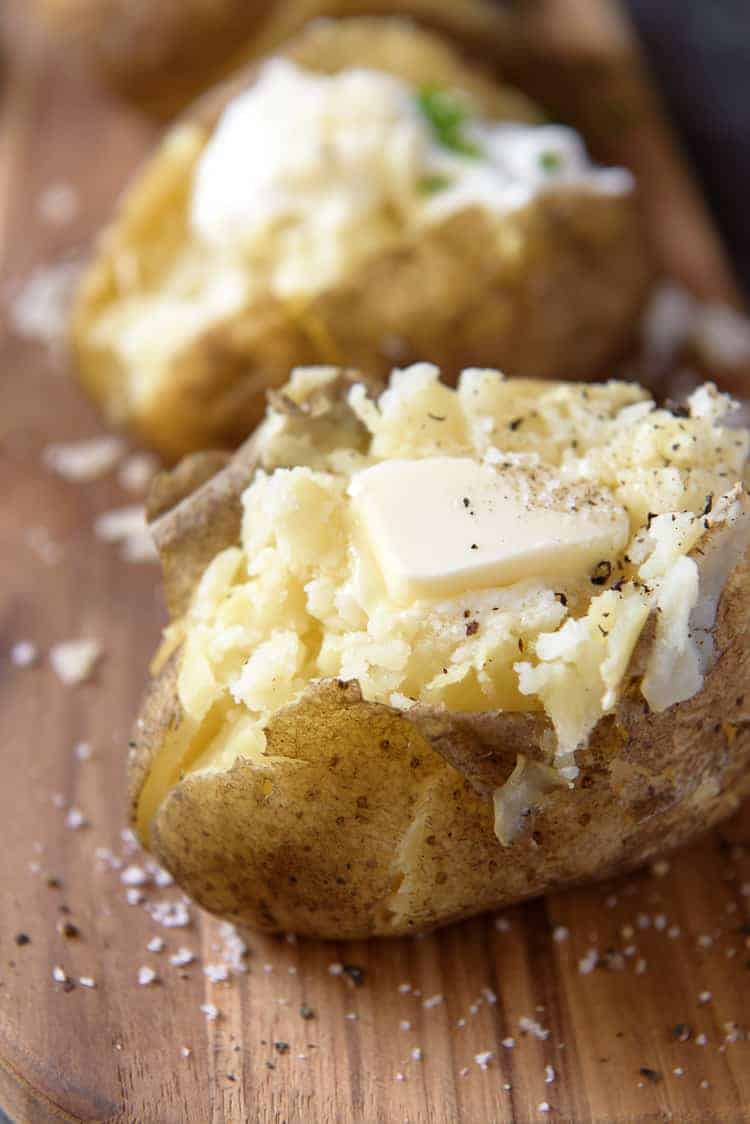 Crock Pot Baked Potato recipe