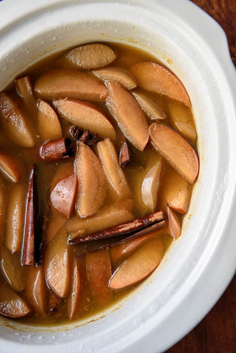 Crock Pot Pumpkin Apple Cider