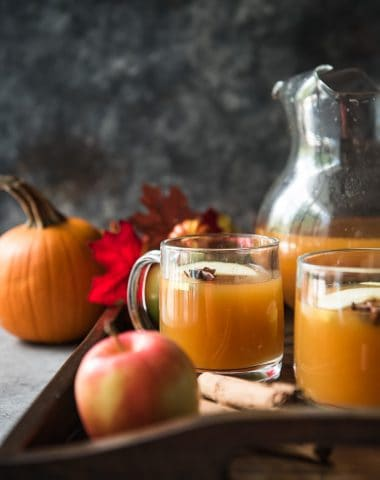 Homemade Pumpkin Apple Cider
