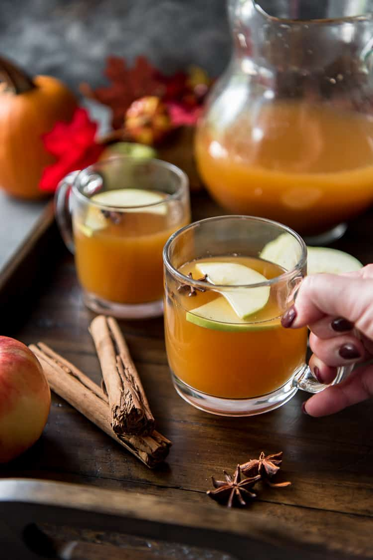 Hot Crock Pot Pumpkin Apple Cider recipe