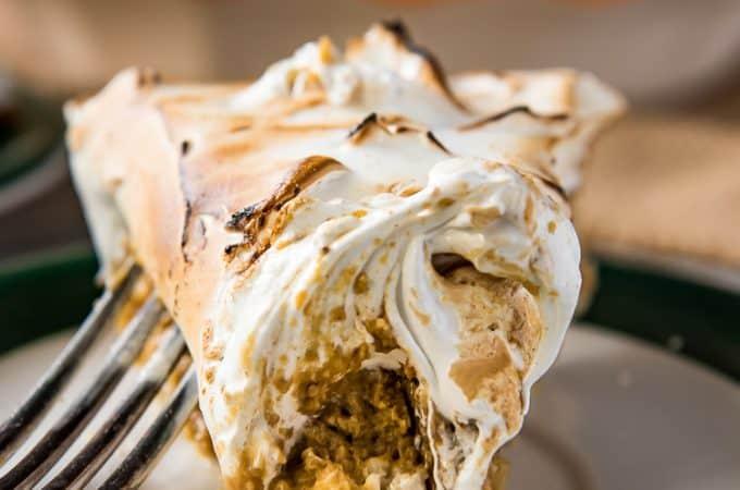Pumpkin Pie with Meringue
