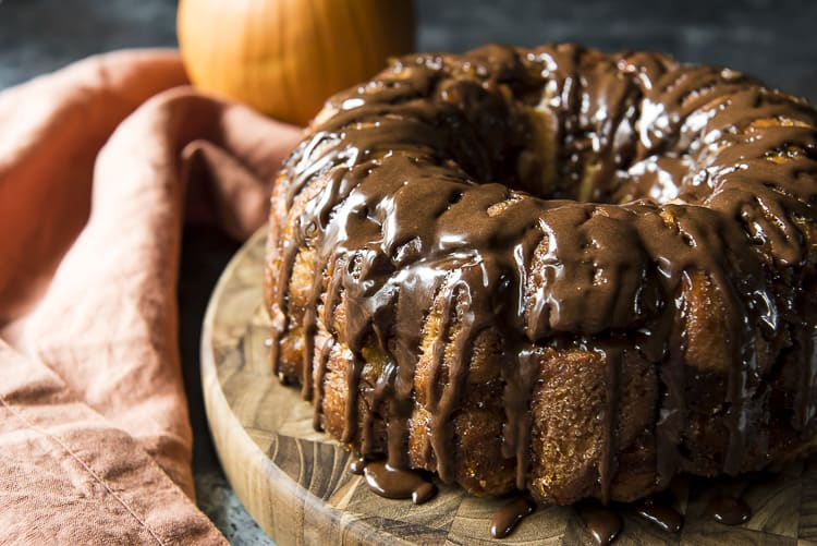 easy pumpkin pull apart bread