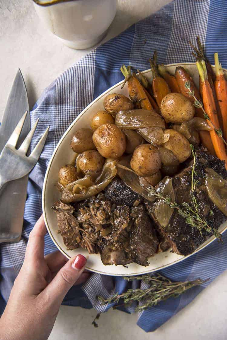 Nana's All-Day Crock Pot Roast