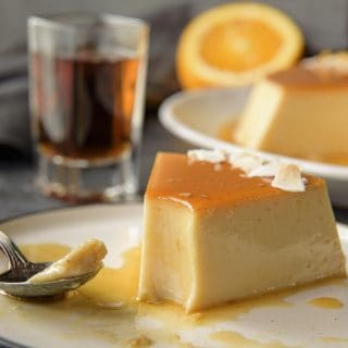 Orange Coconut Flan (Flan de Coco)
