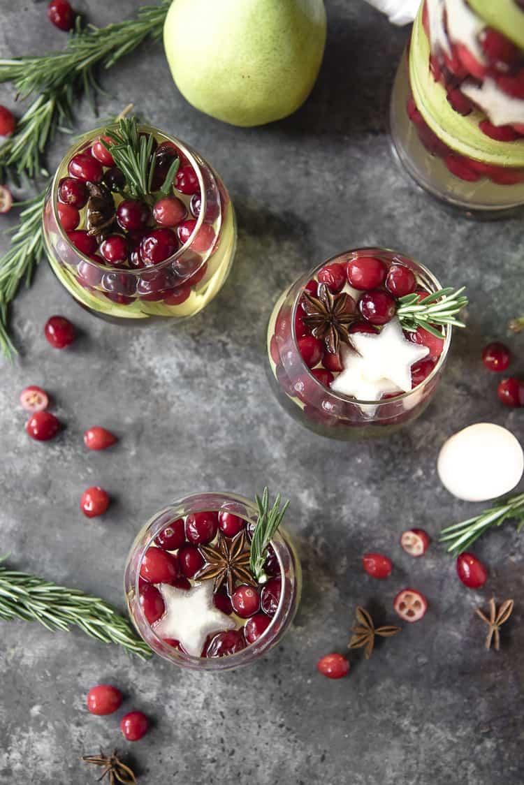 White Christmas Sangria