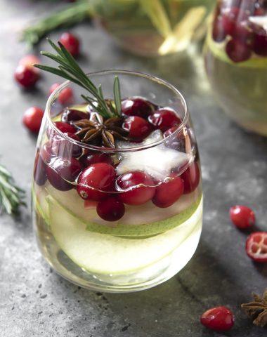 White Sangria for Christmas